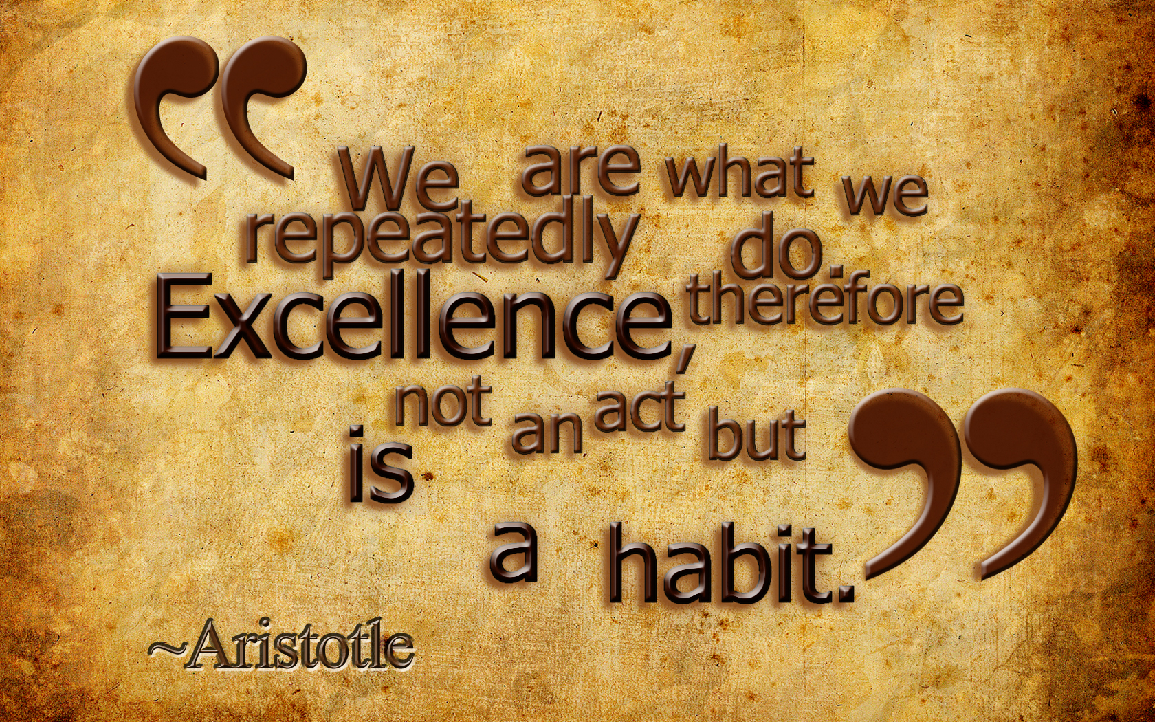 Excellence - A Master Key Which Opens Many Doors