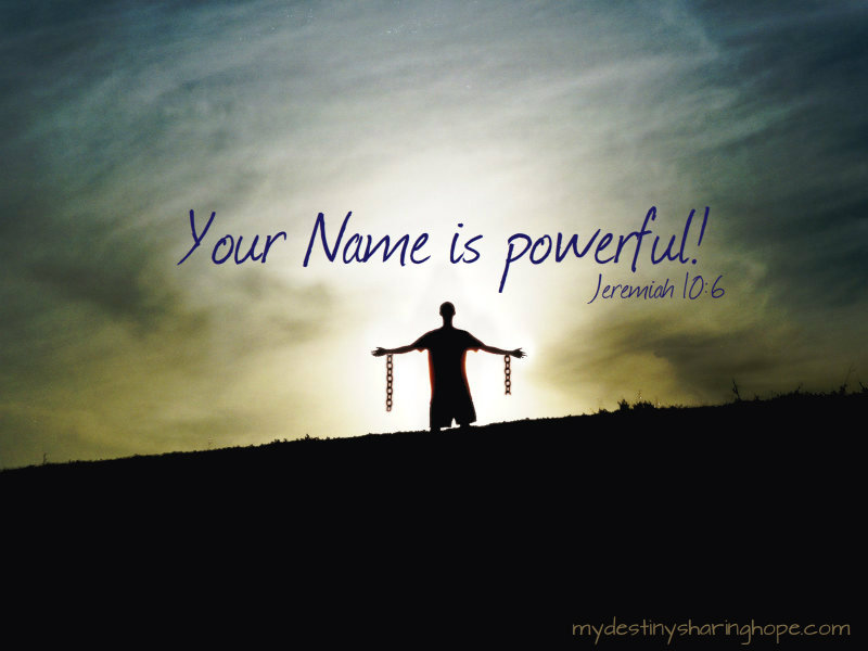 What Can The Name Of Jesus Do For You?