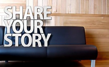 Share YOUR Testimony!