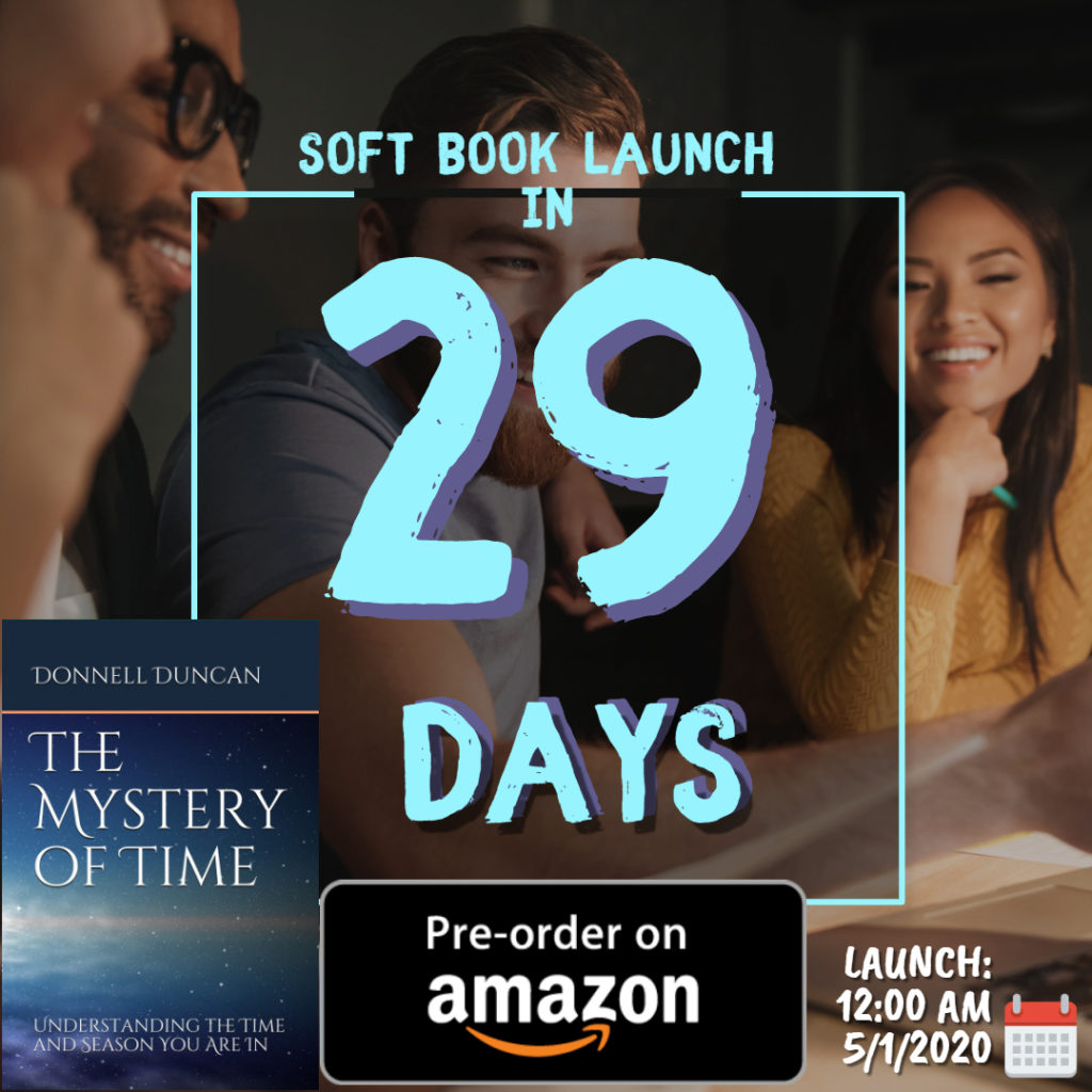 Countdown to Book Launch